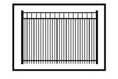 48 Inch High Hudson Residential Pool Fence