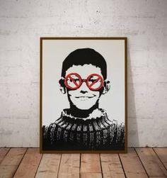 poster street art 5 - 30x40 cm