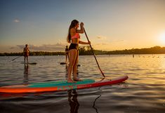 Best paddleboard for beginners to intermediate paddlers with beautiful colors and design. Paddle Boarding, Stand Up, Ranges, Light In The Dark, Lighter, Wood, Get Back Up, Woodwind Instrument, Timber Wood