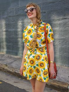 a little ray of sunshine (or sunflowers ;). Sydney. #YvanRodic #FaceHunter