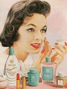 Avon Cosmetics.1950's