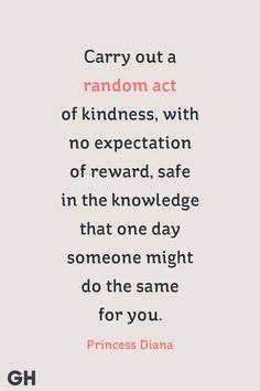 princess diana quote random act of kindness