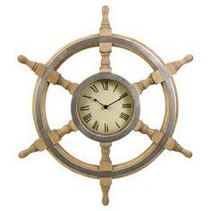 Helm Wall Clock