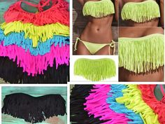 Southern Jewlz Online Store - Fringe Bikini Tops (NEW), $42.95 (http://www.southernjewlz.com/fringe-bikini-tops-new/)