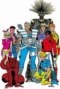 New Mutants by Rob Liefeld