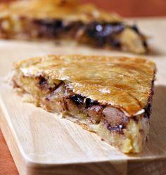 Photo de la recette : Galette des rois à la frangipane, poires et chocolat