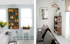 vintage blackboard: Ispirazione eco: le cassette di legno della frutta