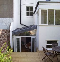 Architectural Designer, Extension Builder in Sutton, pitched roof idea for side return extension