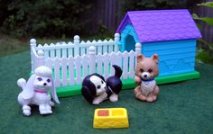 The Littlest Petshop toys... one of my personal favorites growing up! :)
