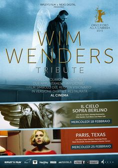 Omaggio a Wim Wenders per i grandi film simbolo del regista visionario - VIDEO