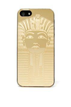 Zero Gravity Gold Pharaoh iPhone5 Case