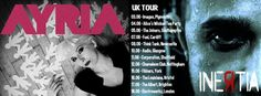 Ayria and Inertia have started their joint UK tour!: read the full story at  http://www.side-line.com/ayria-and-inertia-have-started-their-joint-uk-tour/ . Tags: #Ayria, #Inertia .