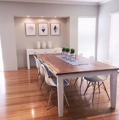 Dining Room Rules: The Key to an American Industrial Dining Room! Home Decor Furniture, Home Decor Bedroom, Room Decor, Hamptons Style Decor, Kmart Home, Kmart Decor, Industrial Dining, Home Hacks, Architecture
