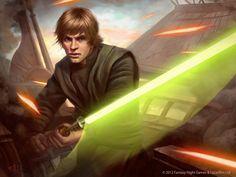Star Wars: TCG - Luke Skywalker by AnthonyFoti.deviantart.com on @deviantART