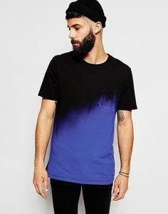 Image 1 ofRiver Island Fade Pocket T-Shirt