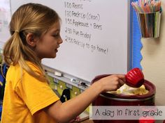 A day in first grade: How to make applesauce in your classroom {recipe included} How To Make Applesauce, Homemade Applesauce, First Grade, Toddler Activities, Classroom, Baking, Desserts, Recipes, Homeschooling