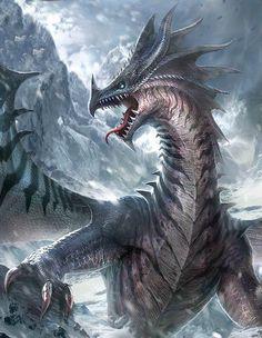 Dragon de la montaña