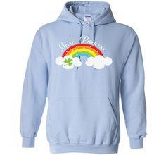 Irish Princess St Patricks Day Rainbow Shamrock T-shirt