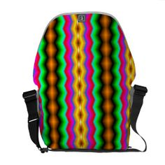 A colorful and trendy pattern the give the product a stylish and modern looks with this decorative and abstract looks. You can also Customized it to get a more personally looks. Line Patterns, Personalized Gifts, Colorful, Messenger Bags, Abstract Pattern, Stylish, Modern, Shapes, Texture