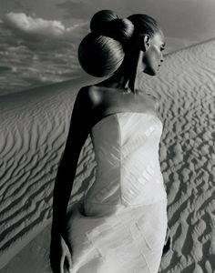 Stunning photo by Henry Clarke (of Samantha Jones?)