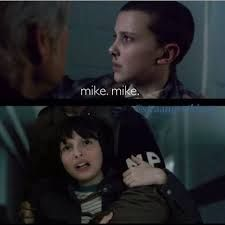 Billedresultat for stranger things mike and eleven