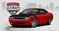 Win a turbocharged 2010 Dodge Challenger SRT8 with performance upgrades!!!