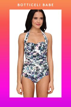The Most Flattering Swimsuit For YOU #refinery29  http://www.refinery29.com/cute-swimwear#slide23