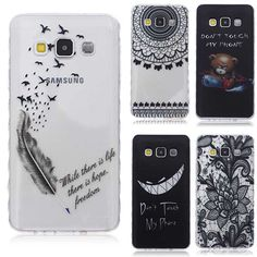 Translucent Delicate Design Back Case for Samsung Galaxy A3 2016 Cover Samsung A3 TPU Silicone Cover Case Phone Coque Hoesjes