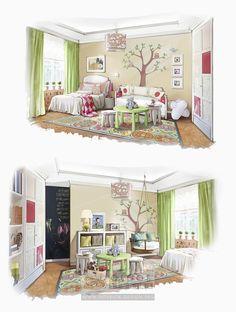 Дизайн детской комнаты для мальчика и девочки http://interior-design.pro/ru/dizayn-detkoy-komnaty-malchika-devochki Children's Room Interior Design http://interior-design.pro/en/kids-room-design-ideas Vaikų kambario interjero dizainas http://interior-design.pro/vaiku-kambario-interjero-dizainas