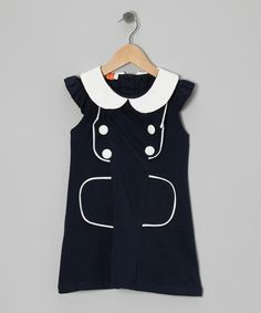 Take a look at this Black Peter Pan Dress - Toddler & Girls on zulily today!