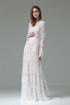 Wedding dress from the 'Feather' Collection by Katya Katya Shehurina   Love My Dress® UK Wedding Blog