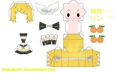 Papercraft Anime,Vocaloids - animedrawling