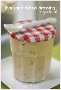 No-oil Thousand Island Dressing by Healthy Girls Kitchen