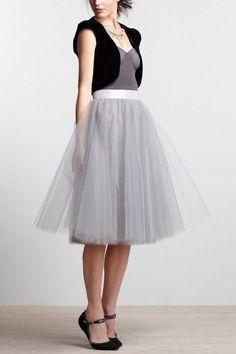 Loving this Alexandra Grecco tulle skirt. #fashion #skirt www.bellavitastyle.com