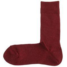MUJI Fußgerechte rechtwinklige Socken