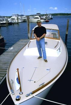 Billy Joel on his boat, 'Nomad.' His tour comes to Shea Stadium this month.