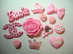 Deluxe DIY Decoden Kit  Kawaii Pink BARBIE Themed by DecodenDiva, $16.99