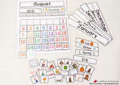 Free Printable Interactive Calendar for Circle Time Kindergarten Calendar, Preschool Calendar, Classroom Calendar, Kids Calendar, Calendar Time, Blank Calendar, Printable Calendar Template, Free Printable Calendar, Free Printables