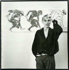 Nancy Spero, The Body | Press centre | Mglc - International centre of graphic arts