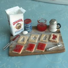 Making Christmas Cookies by IGMA Fellow Ann Caesar Dollhouse Miniature Kitchen