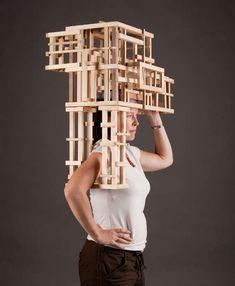 Eccentric Architectural Garments : Wearable Sculptures