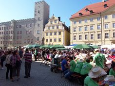 Regensburg Bierfest in Haidplatz
