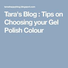 Tips on Choosing your Gel Polish Colour Manicures, Gel Nails, Gel Polish Colors, Manicure And Pedicure, Blog Tips, Colour, Nail Salons, Gel Nail, Color