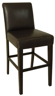 Tavern Bar Stool with Cushion