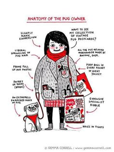 Embarrassingly, this is spot on...Pug People. Love my 5!
