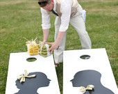 Wedding Games : Corntoss or Cornhole or bean bags (depending on where you are from)
