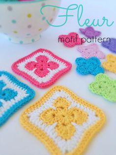 Free Pattern // Fleur Motif by Poppy & Bliss