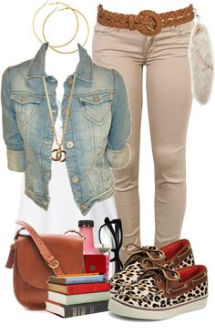 """""""Back To School Pt. 2"""" by faded-cocaine ❤ liked on Polyvore"""
