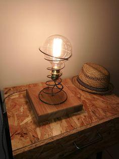 Lampe Ressort Chêne de la boutique Vikepesa sur Etsy