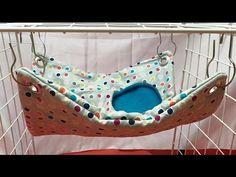 How to make a Rat Hammock (hole hide) Sugar Glider Cage, Sugar Glider Toys, Sugar Gliders, Ideas Hamaca, Rat Cage Accessories, Rat Care, Rat Hammock, Rat Toys, Sugar Bears